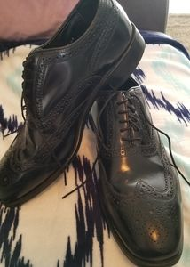 Florsheim Black Dress Shoes size 9 D